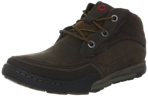 Merrell MOUNTAIN KICKS High Top Mens Brown Braun (BRACKEN) Size: 10 (44.5 EU)