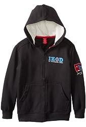IZOD Fleece Logo Hoody