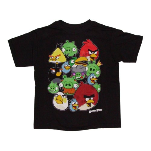 Set of 2 Angry Birds kids shirts. these were found in an air conditioned storage with many still sealed Angry Birds collectables. the gray shirt has the birds riding in a car size S. See all results. Browse Related. Angry Birds Hat. Angry Birds Shirt Mens. Yo Gabba Gabba Shirt. Angry Birds Backpack.