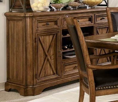 Picture of A.R.T. Furniture Storage Sideboard - Medium Oak (77247-1503) (77247-1503) (Sideboards)