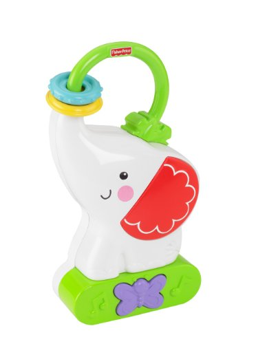 Fisher-Price Tote 'N Glow Soother, Elephant