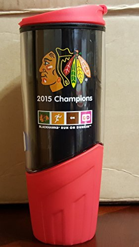 dunkin-donuts-20-oz-hot-cold-coffee-cup-tumbler-chicago-blackhawks-nhl-2015-by-dunkin-donuts