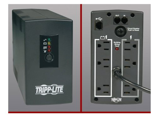 The Best TRIPP LITE 300W 500VA LOW PROFILE UPS FOR KIOSKS, POS & PCS 120V 6 OUTLET (Low Profile 300w compare prices)