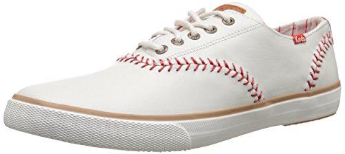 Keds Men's Champion Baseball Leather Fashion Sneaker, Natural Leather, 10.5 M US (Keds Men Champion compare prices)