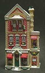 Dept 56 Snow Village Finklea\'s Finery: Costume Shop by Department 56