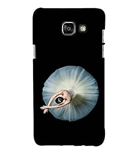 Dancing Girl 3D Hard Polycarbonate Designer Back Case Cover for Samsung Galaxy A3 (2016) :: Samsung Galaxy A3 2016 Duos :: Samsung Galaxy A3 2016 A310F A310M A310Y :: Samsung Galaxy A3 A310 2016 Edition