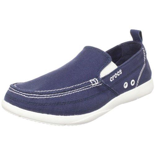 Crocs Zapatillas Henry, Azul (Bleu (Navy/White)), 45.5 EU
