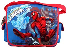 Back to School Super Saving - Marvel Super Hero Spiderman Messenger Bag