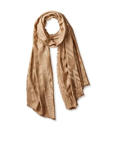 Valentino Women's Tonal Scarf, Camel