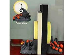 """NECA Nightmare Before Christmas """"Spiral Hill"""" Bookends"""