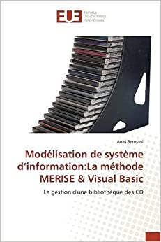 couverture du livre Modelisation de Systeme D'Information: La Methode Merise & Visual Basic