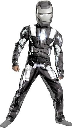 Boys Iron Man 2 War Machine Classic Muscle (As Shown;4 To 6)