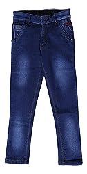 fourgee Boys Jeans (u1, Blue, 8 - 9 Years)