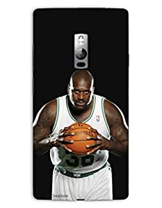 MiiCreations 3D Printed Back Cover for One Plus Two,Shaquille O'Neal,Basketball Player