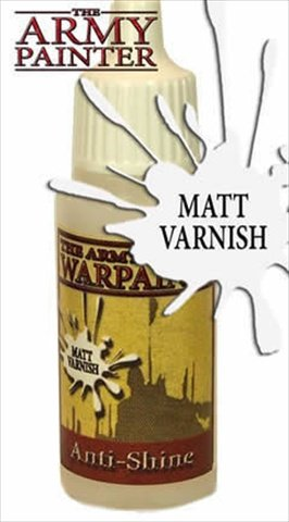 Army Painter WP1103 Warpaints - Anti-Shine, 18 ml