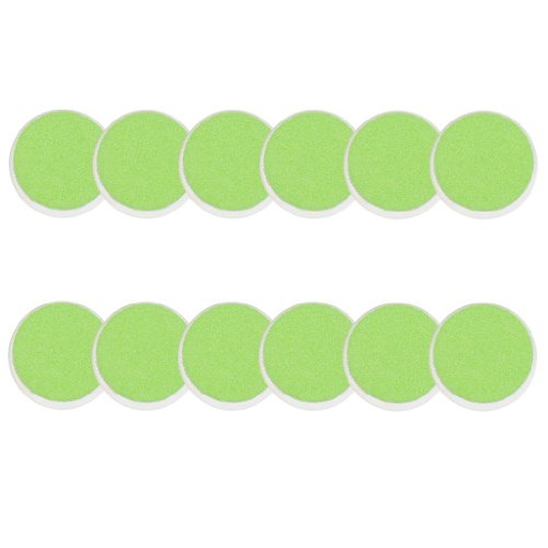 Zoli Baby Buzz B Replacement Pads, Set of 12, Green