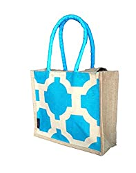 foonty tote women turquoise lunch small bag(FJUWB6295)