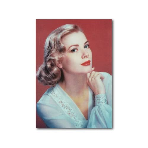 Amazon.com: Grace Kelly Color 12x18 Canvas Print: Posters & Prints