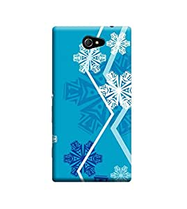 Ebby Premium Back Cover For Sony Xperia M2