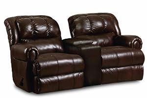 Prime Lane Reclining Console Loveseat Faux Leather Best Sofas Creativecarmelina Interior Chair Design Creativecarmelinacom