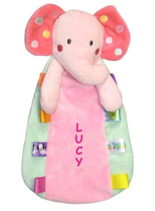 Personalized Baby Rattle front-1044458