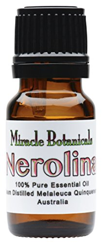 Miracle Botanicals Wildcrafted Nerolina Essential Oil - 100% Pure Melaleuca Quinquenervia - 10ml