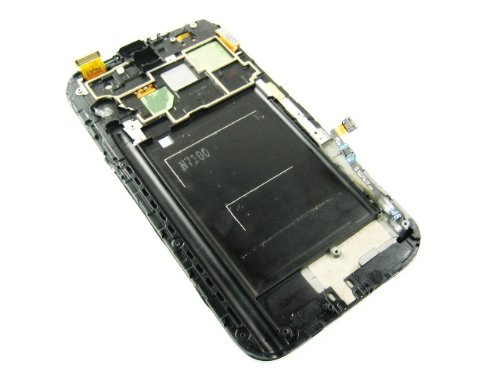 For Samsung Galaxy Note 2 Ii Gt-N7100 White ~ Full Amoled Lcd Display Screen+Frame ~ Mobile Phone Repair Part Replacement