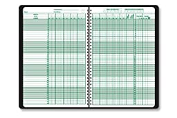 Hammond & Stephens Class Record Book - 9-10 Week Periods - 6 3/4 x 10 1/4 inches