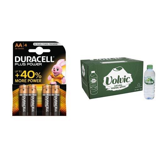 duracell-plus-power-aa-alkaline-batteries-4-batteries-and-volvic-still-mineral-water-24-x-500ml