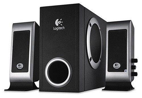 Logitech S200 schwarz Soundsystem 2.1 schwarz