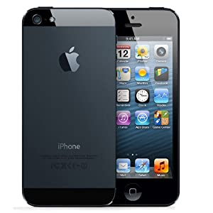 Apple iPhone 5 SIM FREE UNLOCKED - Black (64GB, BLACK)