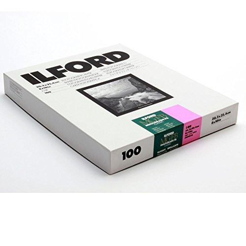 Ilford MGFB1K Fiber Based B & W Paper - 8x10, 100PK Glossy