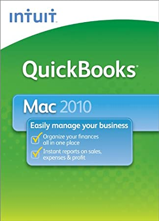 QuickBooks 2010 for Mac  [Download] [OLD VERSION]