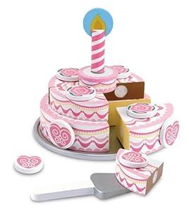 Melissa & Doug Triple - Layer Party Cake from Melissa & Doug