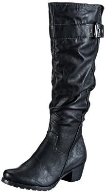 Marco Tozzi 2-2-25504-21, Damen Stiefel, Schwarz (Black Antic 002), EU 36