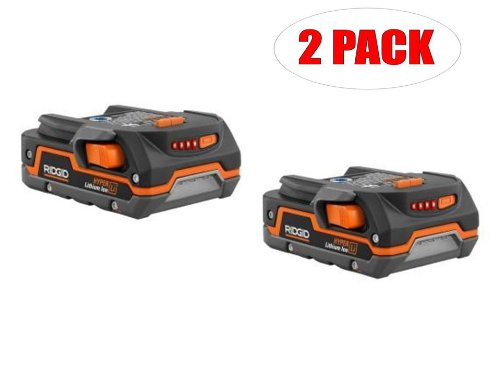 RIGID Ridgid AC840085 Hyper Lithium Ion 1.5 Ah Compact Battery (2 PACK) # 130183001-2PK at Sears.com