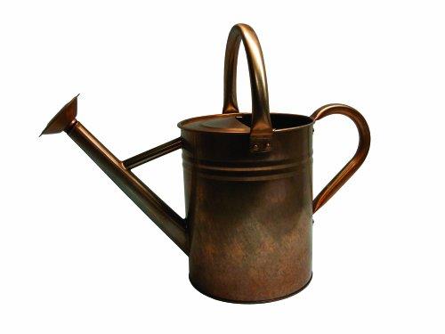 Gardman 8333 Antique Copper Finish Galvanized Steel Watering Can, 1.9-Gallon 0