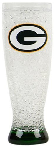 NFL Green Bay Packers 16oz Crystal Pilsner (Green Bay Packer Beer Glass compare prices)