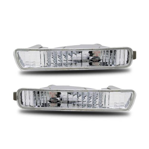 SPPC Bumper Lights Clear For Honda Accord - (Pair) (Bumper For Honda Accord 1995 compare prices)
