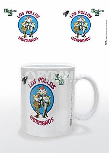 Posters: Breaking Bad Poster Photo Coffee Mug - Los Pollos Hermanos (4 X 3 Inches)