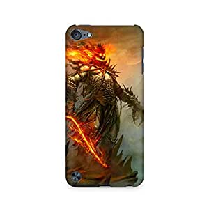 Mobicture Monster Premium Printed Case For Apple iPod Touch 5
