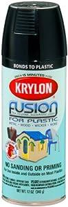 krylon k02321000 fusion for plastic aerosol spray paint. Black Bedroom Furniture Sets. Home Design Ideas