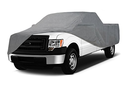 Coverking UVCTFSCI98 Universal Fit Cover for Full Size Truck with Short Bed Crew Cab - Triguard Light Weather Outdoor (Gray) (Truck Cab Bed compare prices)