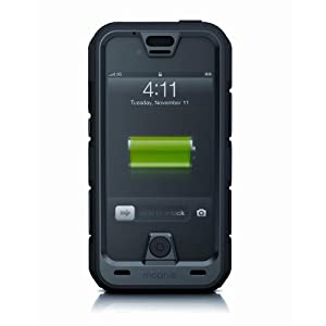 Mophie Juice Pack Pro Ruggedized Rechargeable External Battery Case for iPhone 4/4S