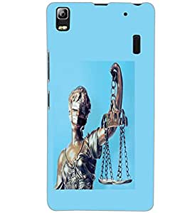 LENOVO A7000 PLUS ANDHA KANOON Back Cover by PRINTSWAG