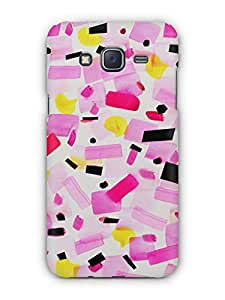 Cover Affair Girly Printed Back Cover Case for Samsung Galaxy J3