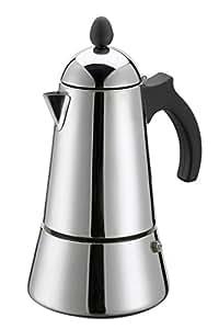 Italian Coffee Maker Induction : GAT Eterna 10 Cup Induction Stove Top Italian Espresso Coffee Maker: Amazon.co.uk: Kitchen & Home