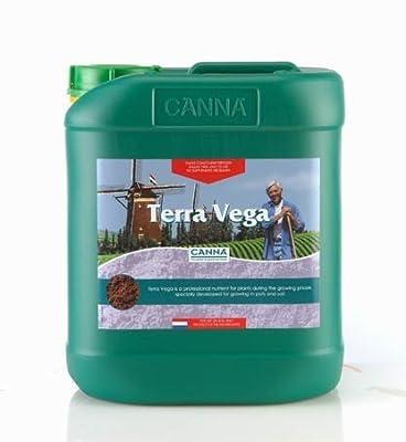 5 Liter - Terra Vega - Soil Veg Nutrient - CANNA 9120005 by CANNA