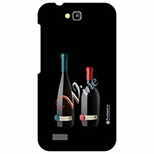 Honor Holly Hol-U19 Back Cover - Wine Up Designer Cases