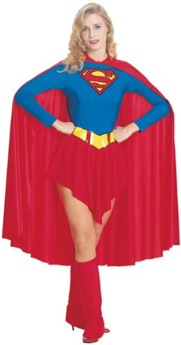 SupergirlTM Fancy Dress Costume (adult size 12-14)